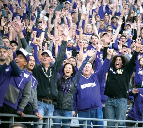 Fans at Husky Stadium