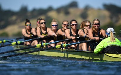 Women's Rowing competes in 2017 Pac-12 Championship