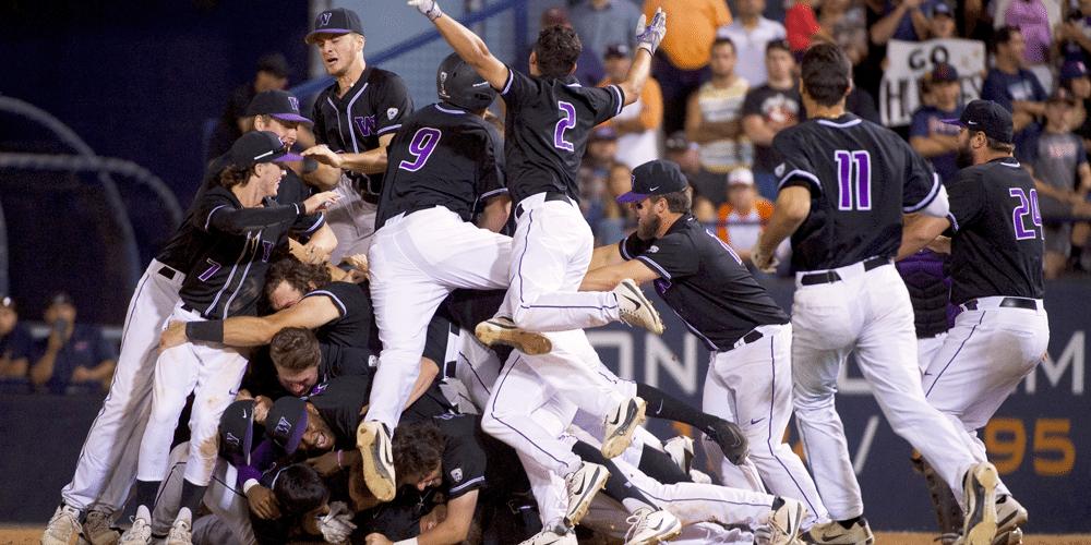 2018 Baseball team celebrates first World Series berth