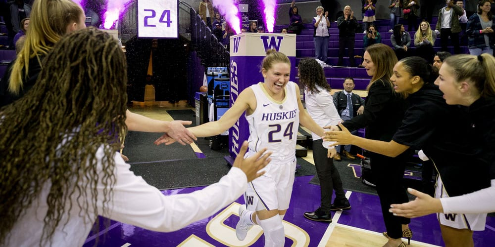 Jenna Moser runs out of tunnel