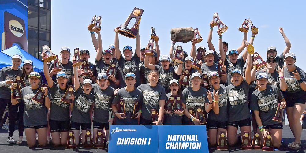 Women's Rowing wins NCAA Championships