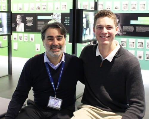 Ian Engstrom and Filippo Milano